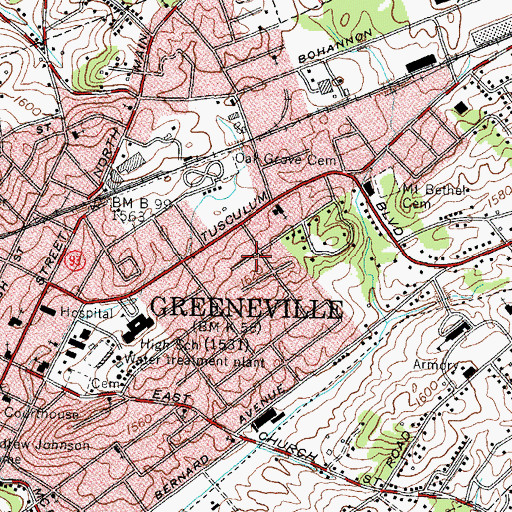 Town of Greeneville, TN