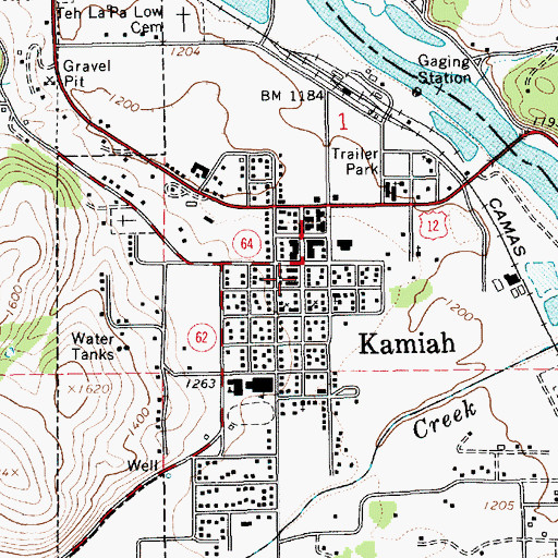Kamiah Fire Map.City Of Kamiah Id