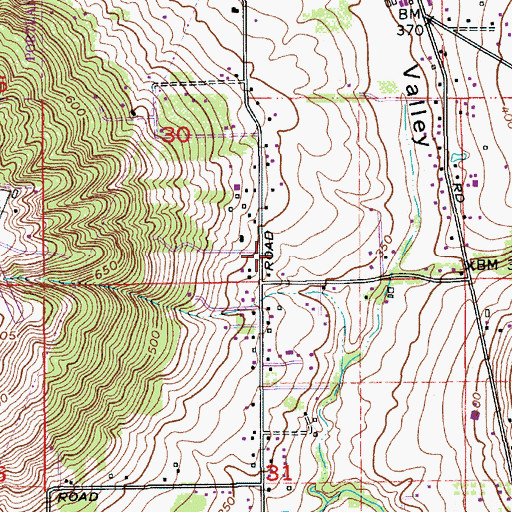 Topographic Map of Abundant Life Christian Church, OR