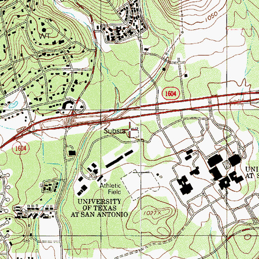 Topographic Map of Chisholm Hall, TX
