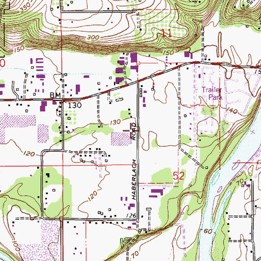 Topographic Map of Clackamas Fire District Number 1 Station 8 Clackamas, OR