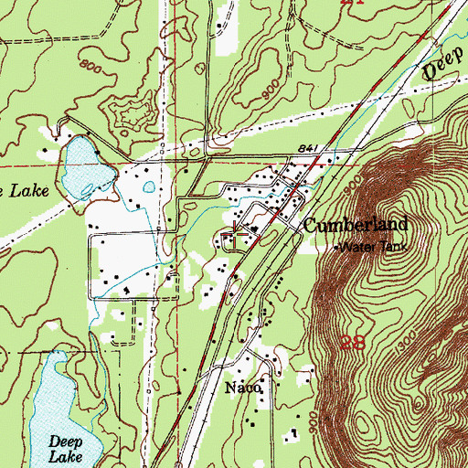 King County Topographic Map.King County Fire Protection District 28 Enumclaw Fire Department