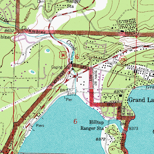 Grand Lake Fire Map.Grand Lake Fire Protection District Co