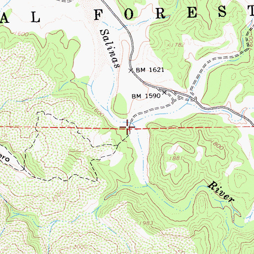 Topographic Map of American Canyon, CA