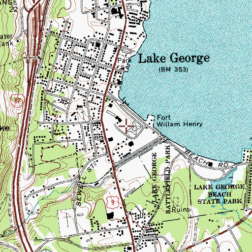 Lake George Battlefield Park Historic District, NY