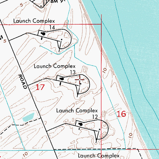 Location Of Port Canaveral Florida: Launch Complex 13, FL