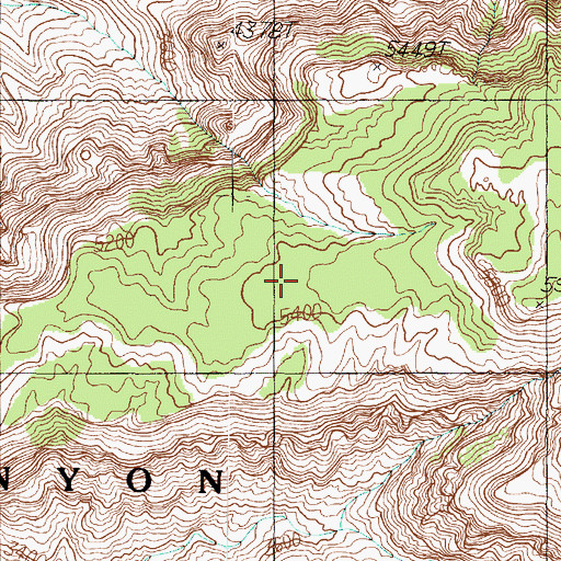 Topographic Map of Feroz Terrace, AZ