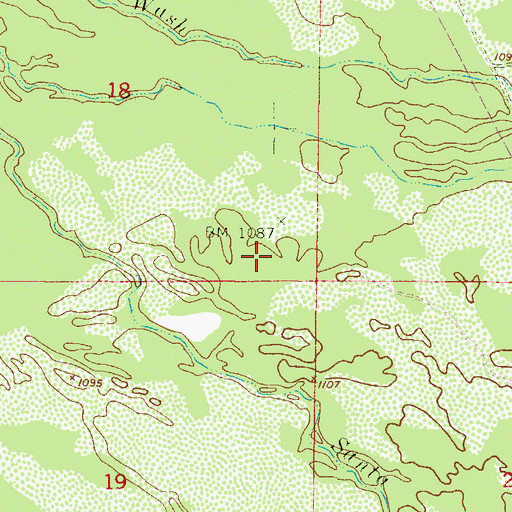 Topographic Map of Maricopa Wells, AZ