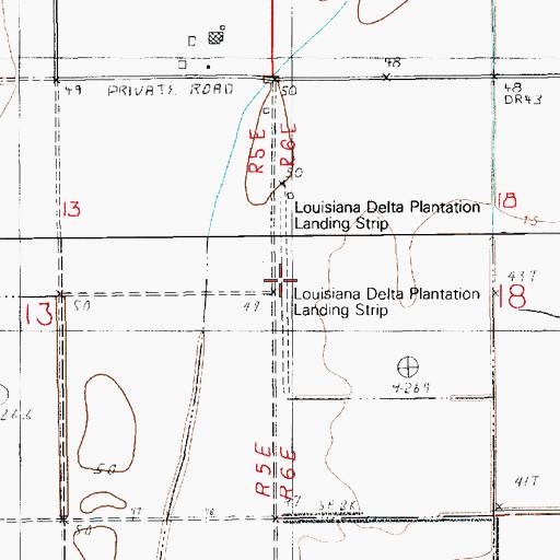 Map Of Louisiana Plantations.Louisiana Delta Plantation Landing Strip La