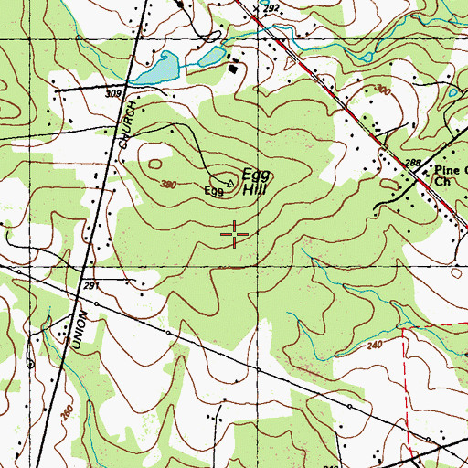 Topographic Map of Egg Hill, MD