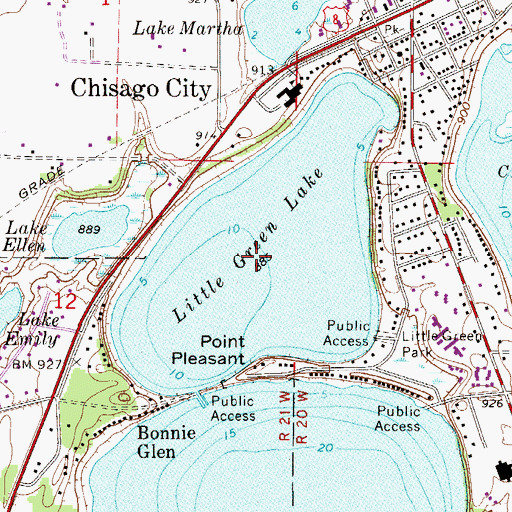 little green lake map Little Green Lake Mn little green lake map