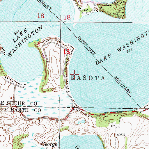 lake washington mn map Lake Washington Mn lake washington mn map