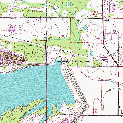 Lake Atkins Dam Ar
