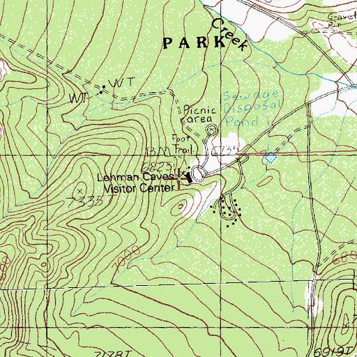 Great Basin National Park Visitor Center Nv