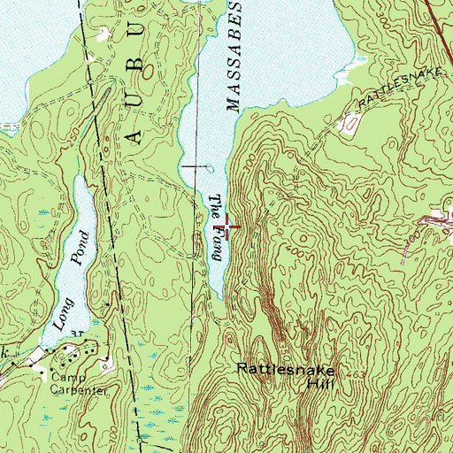 Topographic Map of The Fang, NH