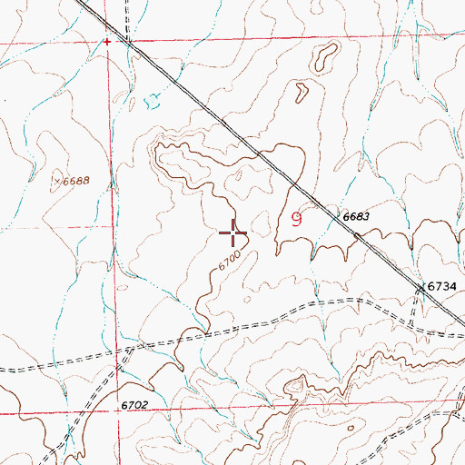 Topographic Map of 94-202 Water Well, NM