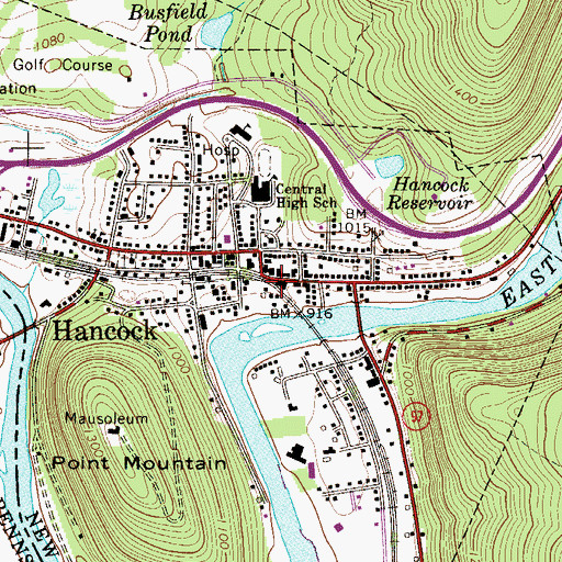 Best Places To Live York Pa: Hancock Ny Map