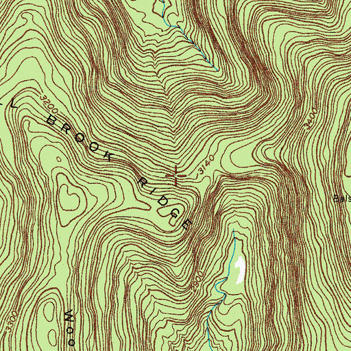 Topographic Map of Town of Hardenburgh, NY